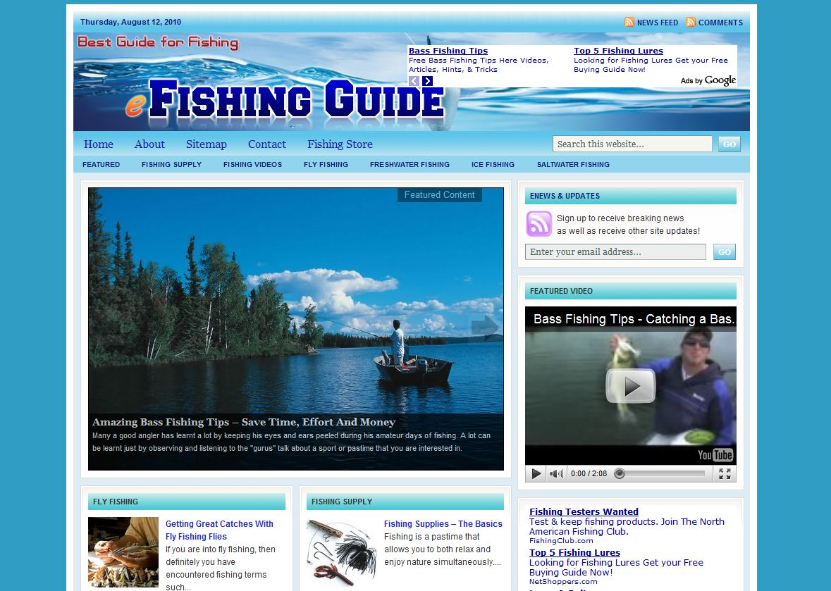 Online Fishing Guide