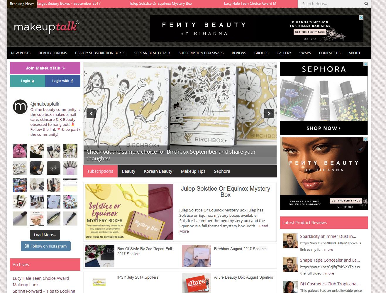 MakeupTalk.com