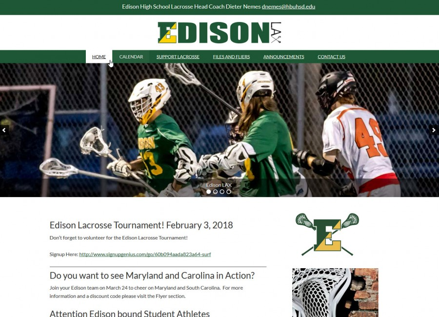 Edison High School Lacrosse
