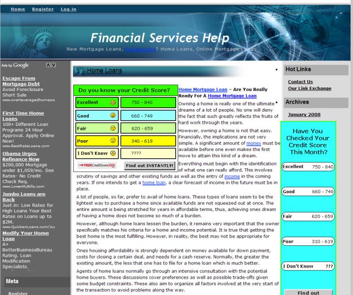 Financial Service Help