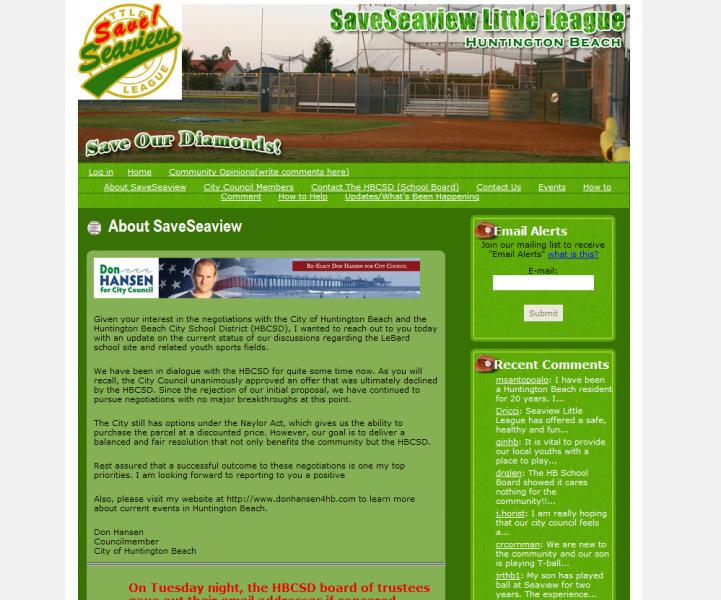 SaveSeaview.com