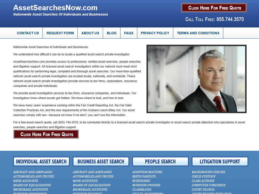 Asset Searches Now