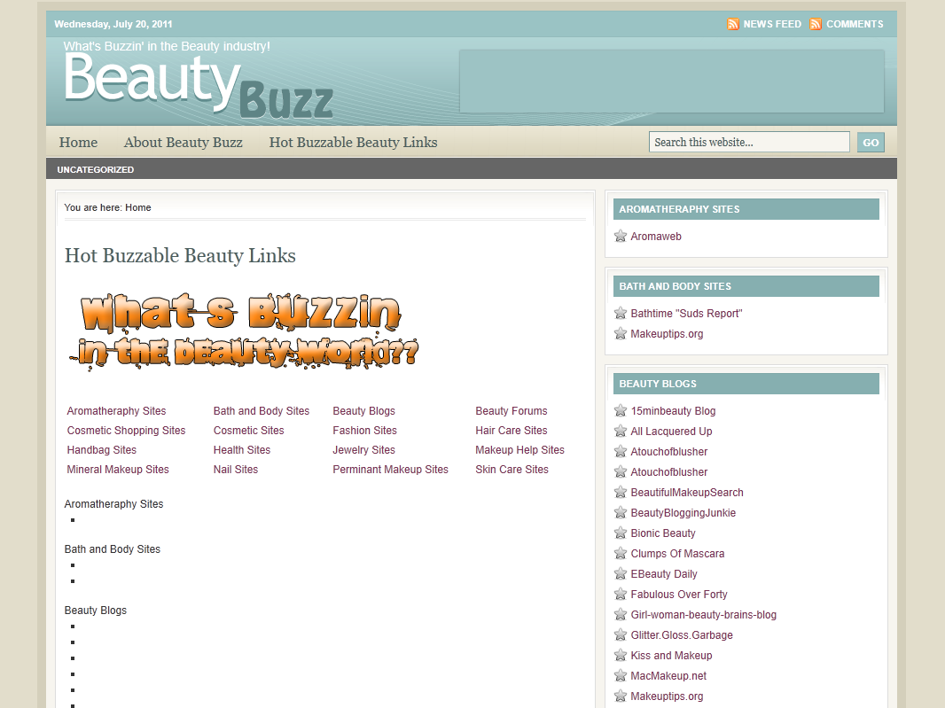 Beauty Buzz