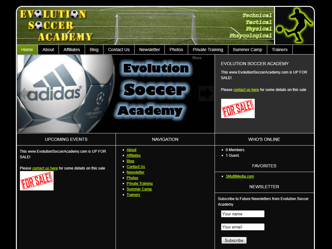 Evolution Soccer Academy