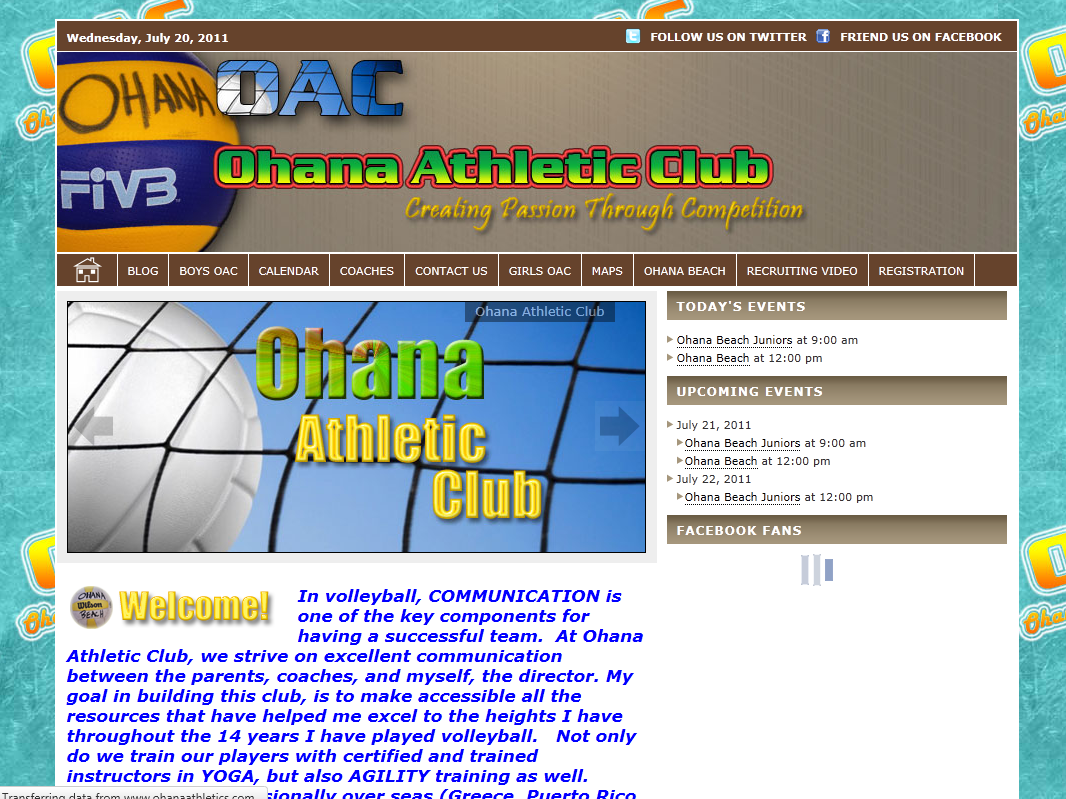 Ohana Athletic Club