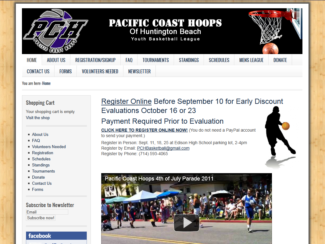 PCHoops Youth Basketball League