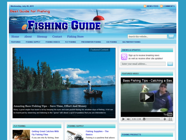 EFishing Guide