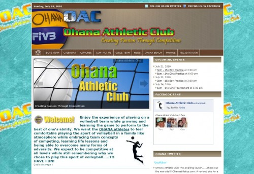 Ohana Athletic Club - www.OhanaAthletics.com