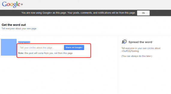 how to set up a google plus page8 570x314 How to Setup Google+ Brand Page for Your WordPress Site