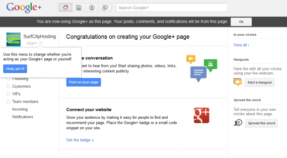 how to set up a google plus page9 570x314 How to Setup Google+ Brand Page for Your WordPress Site