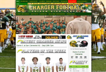 Site Design..Edison High School Football