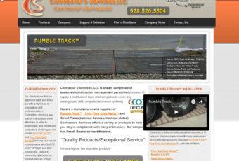 Site Design: Contractors Services