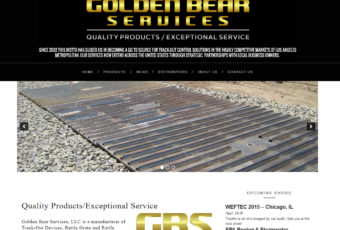 Site Design: Golden Bear Services