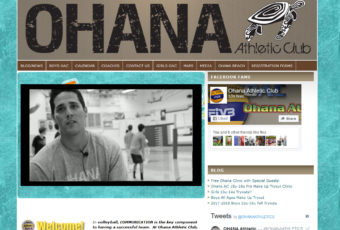 Site Design: Ohana Volleyball Club